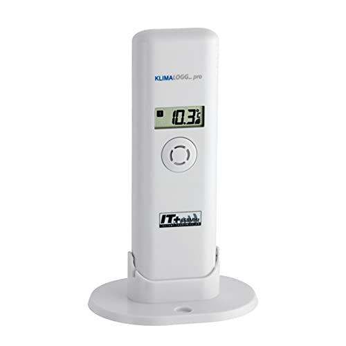 TFA Dostmann Temperatur Sender für Klimalogg Pro, 30.3181.IT, Ersatzsender/Zusatzsender