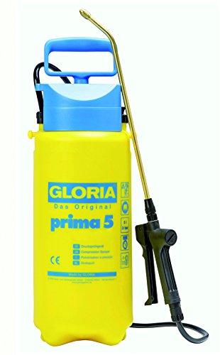 Gloria Prima 5 Drucksprühgerät 5 L, Messing-Lanze und Düse